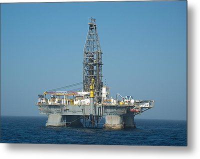 Metal Print featuring the photograph The Deepwater Horizon by Bradford Martin