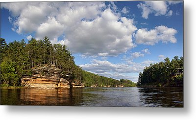 The Dells Of The Wisconsin River Metal Print