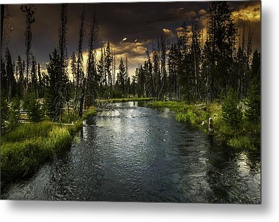 The Deschutes River Metal Print
