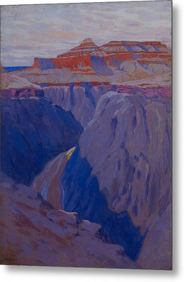 The Destroyer Metal Print by Arthur Wesley Dow
