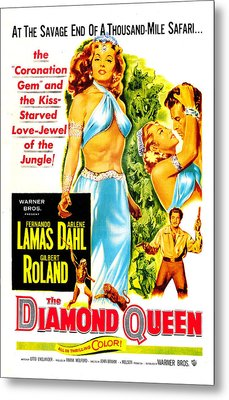 The Diamond Queen, Us Poster, From Left Metal Print