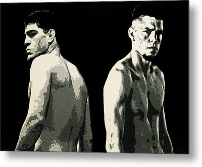 The Diaz Bros Metal Print