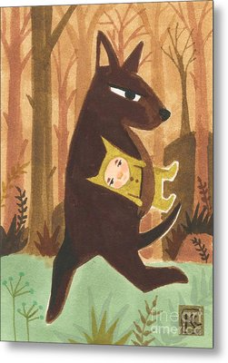 The Dingo Stole My Baby Metal Print by Kate Cosgrove