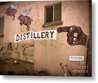 The Distillery Metal Print