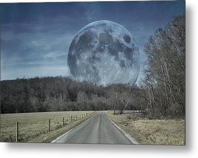 The Doctor's Light Three Of Four Metal Print by Betsy Knapp