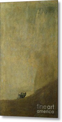 The Dog Metal Print by Goya