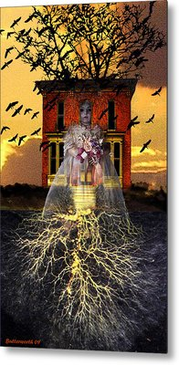 The Doll House Metal Print by Larry Butterworth