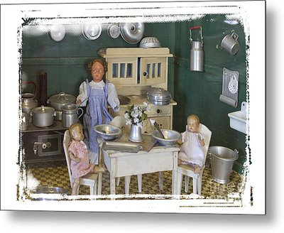 The Dollhouse From Other Times Metal Print by Helga Koehrer-Wagner