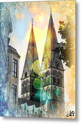 Metal Print featuring the photograph The Dom  by Nico Bielow