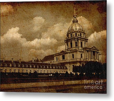 The Dome Church- Paris Metal Print by Soumya Bouchachi