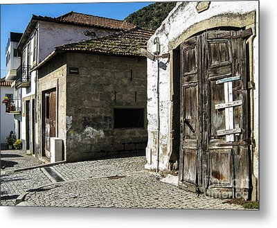 Metal Print featuring the photograph The Door by Arlene Carmel