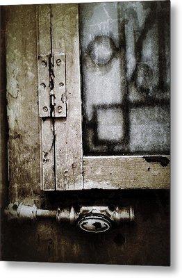 The Door Of Belcourt Metal Print by Natasha Marco