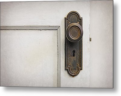 The Door Metal Print by Scott Norris