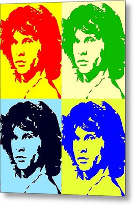 The Doors And Jimmy Metal Print by Robert Margetts