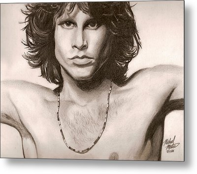The Doors Metal Print by Michael Mestas
