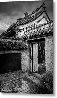 The Doorway  Metal Print