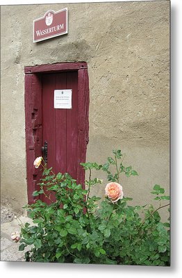 Metal Print featuring the photograph The Doorway by Pema Hou