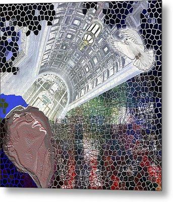 The Dove Metal Print by Maria Jesus Hernandez