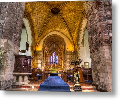 The Dover Church Of St. Mary In Castro Metal Print by Tim Stanley