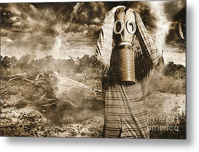 The Downfall Metal Print by Jorgo Photography - Wall Art Gallery