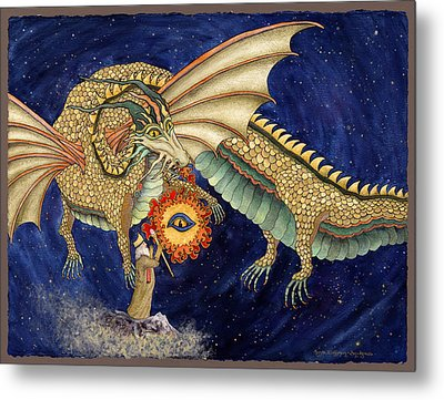 The Dragon King Metal Print