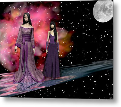 The Dragon King's Daughters Metal Print