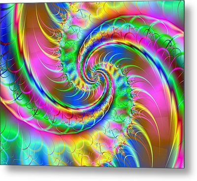 The Dragon's Tail Metal Print by Ester  Rogers
