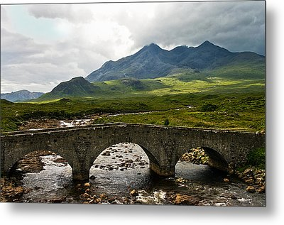 The Dramatic Isle Of Skye Metal Print by Jacqi Elmslie