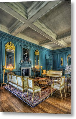 The Drawing Room Metal Print by Ian Mitchell