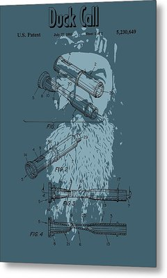 The Duck Commander Duck Call Metal Print