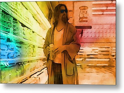 The Dude Metal Print by Dan Sproul