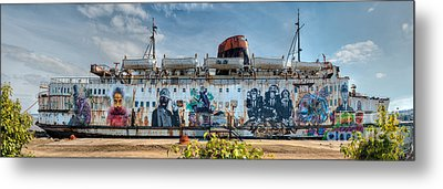 The Duke Of Graffiti Metal Print by Adrian Evans