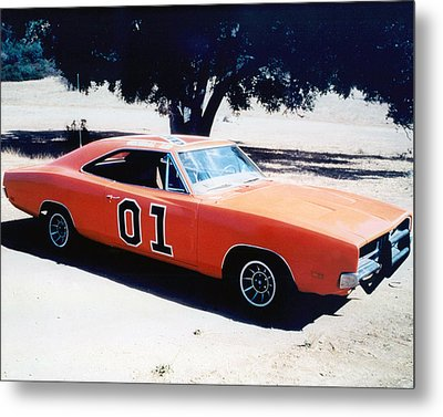 The Dukes Of Hazzard  Metal Print by Silver Screen