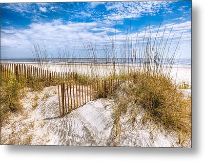 The Dunes Metal Print by Debra and Dave Vanderlaan