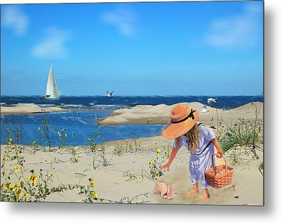 Metal Print featuring the photograph The Dunes by Mary Timman