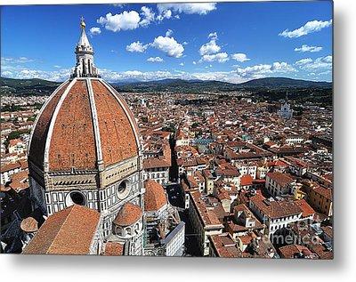 The Duomo Florence Metal Print by Jeff Lewis