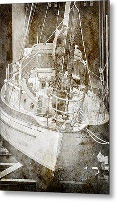 Metal Print featuring the digital art The Dutchman by Davina Washington