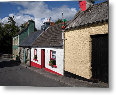The Dying Man House From The Quiet Man Metal Print by Panoramic Images