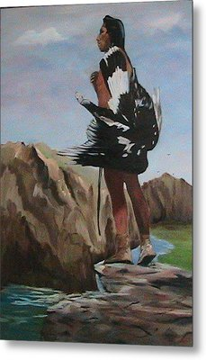 The Eagle Hunter Metal Print