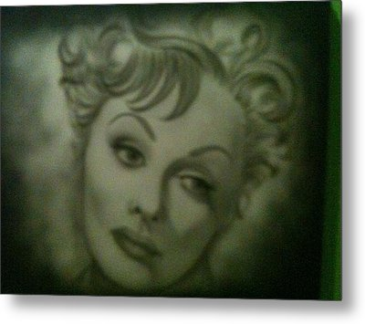 The Early Years Of Lucille Ball Metal Print