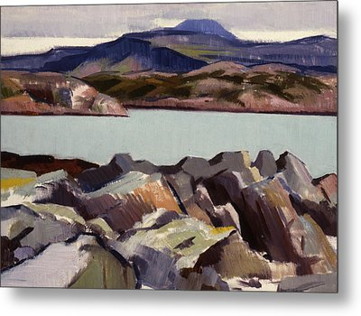The East Bay  Iona Metal Print by Francis Campbell Boileau Cadell