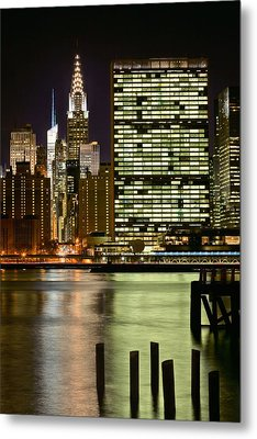 The East River Metal Print by JC Findley