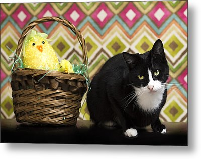 The Easter Tiggy Metal Print