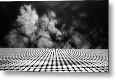 The Edge Metal Print by Mihai Florea
