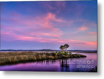 The Edge Of Night Metal Print by Marvin Spates