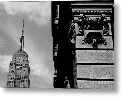 Metal Print featuring the photograph The Empire State Building by Steven Macanka