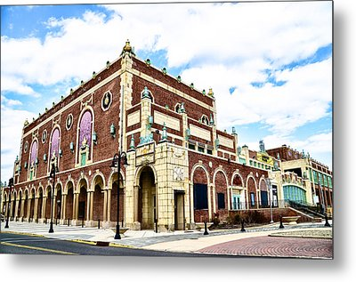 The Empire Theater Asbury Park Nj Metal Print by Bill Cannon