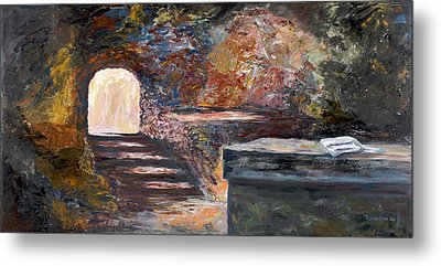 Metal Print featuring the painting The Empty Tomb by George Richardson