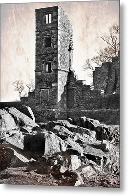 The Empty Tower Metal Print by Linsey Williams