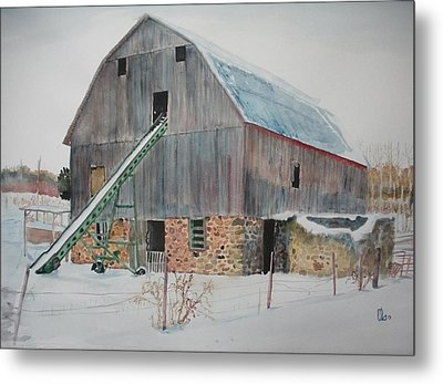 The Enchanted Barn Metal Print